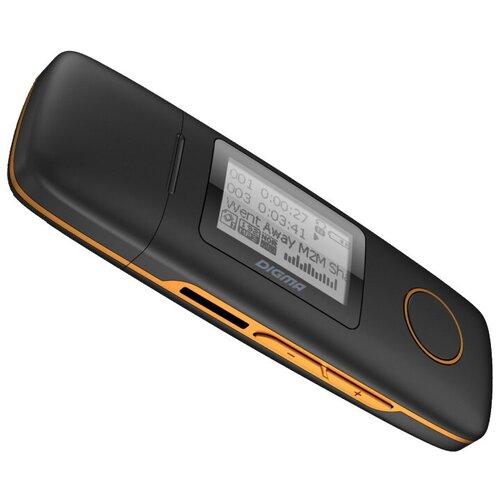 Плеер DIGMA U3 4 GB черный