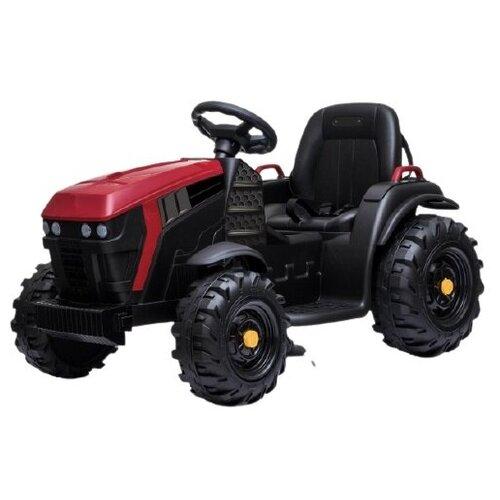 детский электромобиль jiajia bmw x6m black 12v jj2168 Детский электромобиль Bettyma трактор с прицепом 2WD 12V Jiajia BDM0925-RED