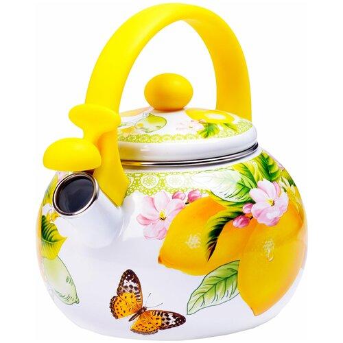 Фото - Чайник эмалированный со свистком MAYER&BOCH 29760 2,2 л чайник эмалированный со свистком 2 5 л metrot таково кухня 115432