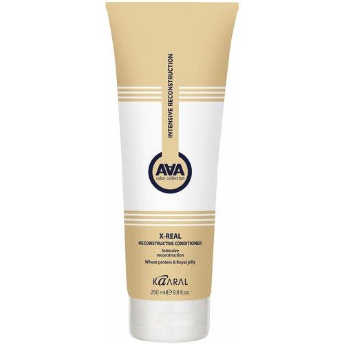 Купить Kaaral кондиционер AAA X-Real Reconstructive с пшеничными протеинами, 250 мл