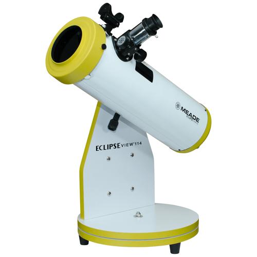 Фото - ТЕЛЕСКОП MEADE ECLIPSEVIEW 114 ММ (РЕФЛЕКТОР С СОЛНЕЧНЫМ ФИЛЬТРОМ НА НАСТОЛЬНОЙ МОНТИРОВКЕ) телескоп meade lx90 12 f 10 acf с профессиональной оптической схемой