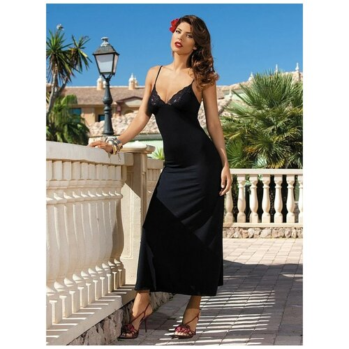 Сорочка Mia-Mia Karmen, размер S(44), черный сорочка mia mia размер s 44 синий