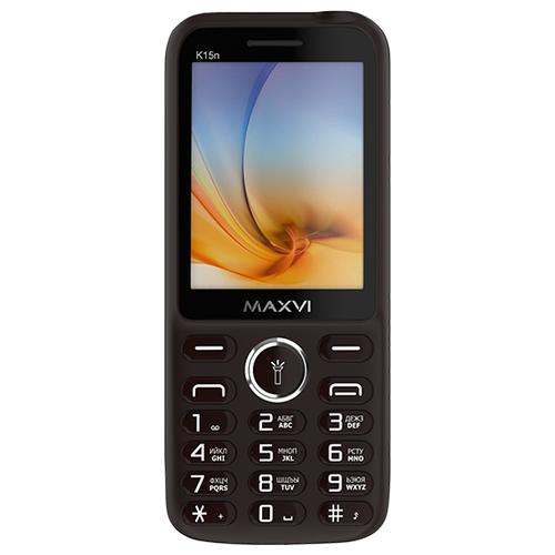 Телефон MAXVI K15n коричневый