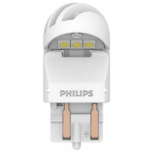 Лампа автомобильная светодиодная Philips 11066XUWX2 W21/5W 12/24V 1,8/0,3W 2 шт.