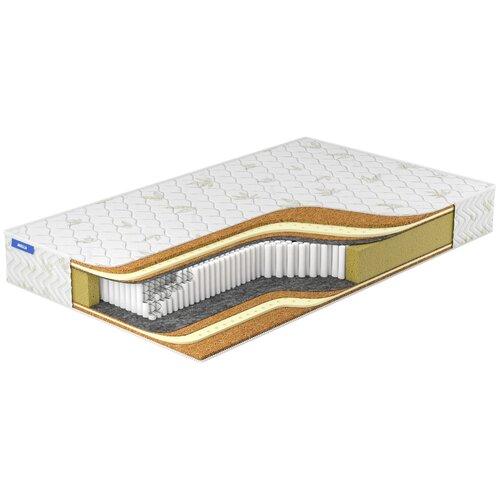 Фото - Матрас Miella Duet Cocos-Hard S2000, 120x200 см, пружинный, белый матрас miella cocos hard maxi s2000 120x200 см пружинный белый