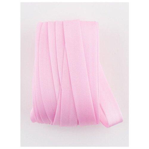 Купить Косая бейка, 14-15 мм, 10 м., GK-15P, Гамма, №028 розовый, Gamma, Технические ленты и тесьма
