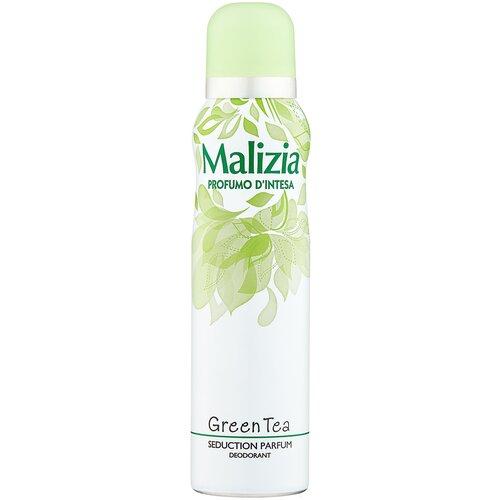 Malizia дезодорант, спрей, Profumo DIntesa Green Tea, 150 мл
