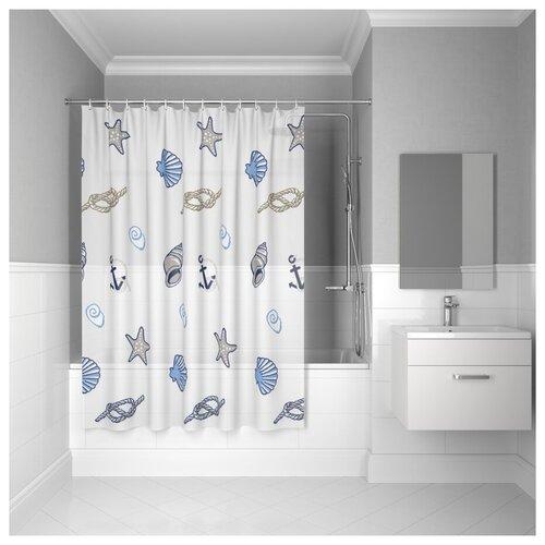 Штора для ванной комнаты, 180*180см, PEVA, P24PV11i11, IDDIS штора для ванной комнаты 180 180см peva p27pv11i11 iddis