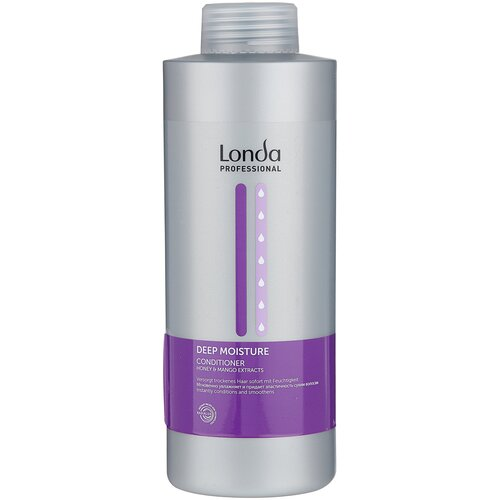 Фото - Londa Professional кондиционер для волос Deep Moisture увлажняющий, 1000 мл londa professional кондиционер p u r e 1000 мл
