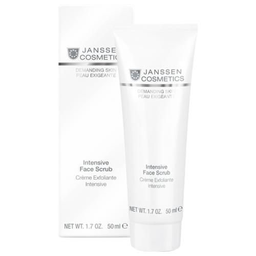 Janssen Cosmetics скраб для лица Demanding skin Intensive Face Scrub 50 мл скраб для лица erborian black scrub 50 мл