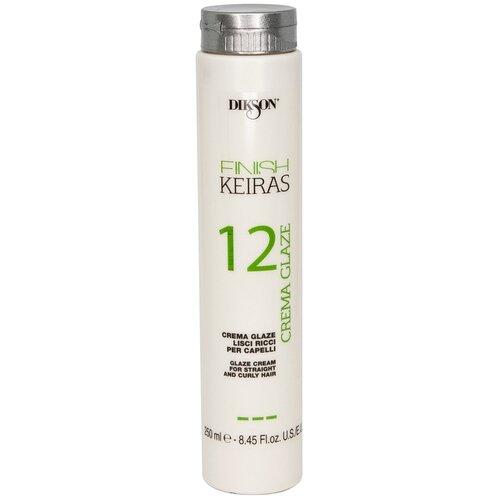 Фото - Dikson Keiras Finish 12 Крем-глазурь для гладких и кудрявых волос, 250 мл dikson средство setamyl для волос 12 12 мл