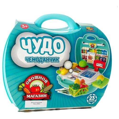 Касса ABtoys Чудо-чемоданчик (PT-00461), Играем в магазин  - купить со скидкой
