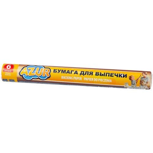 Бумага для выпечки AZUR 902100, 6 м