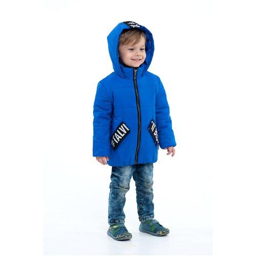 Купить Куртка для мальчика Talvi 02110, размер 086/48, цвет васильковый, Куртки и пуховики