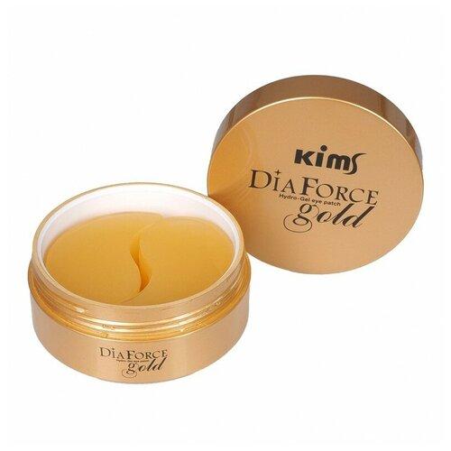 Купить Kims Гидрогелевые патчи Dia Force Gold Hydro-Gel Eye Patch, 60 шт.