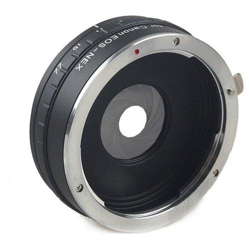 Фото - Fujimi FJAR-EOSNEXAP переходник с Canon EOS на E SONY NEX c диафрагмой кольцо fujimi adapter canon eos m42 fjar 42eos 478