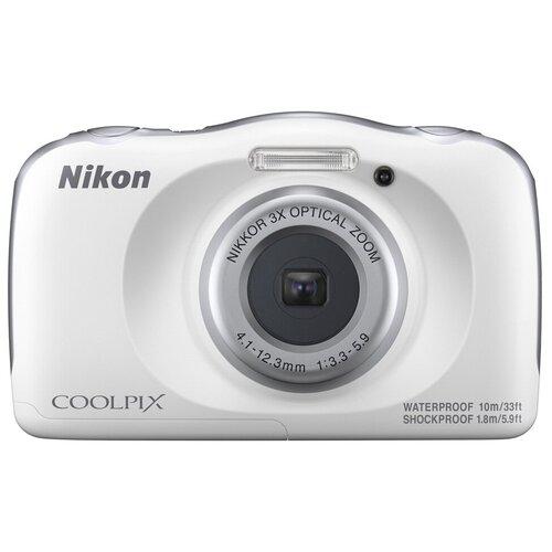 Фотоаппарат Nikon Coolpix W150 белый