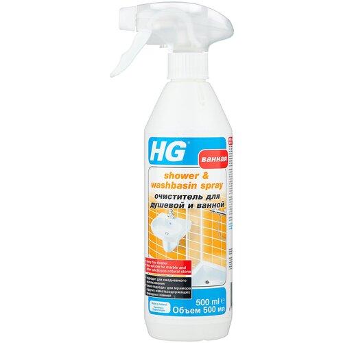 Фото - HG очиститель для душевой и ванной, 0.5 л очиститель hg для душевой и ванной 500 мл