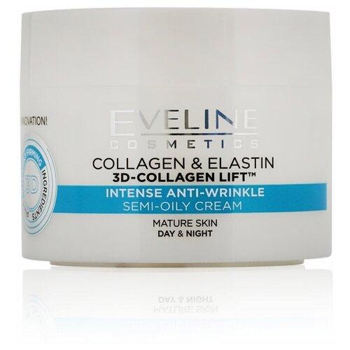 Фото - Eveline Cosmetics 6 компонентов Коллаген & Эластин Полужирный крем Активное омоложение, 50 мл кильдишев олег игоревич великолепное здоровье и активное омоложение