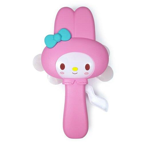 Игрушка Ручной мини-вентилятор. Зайчик (цвет: розовый)