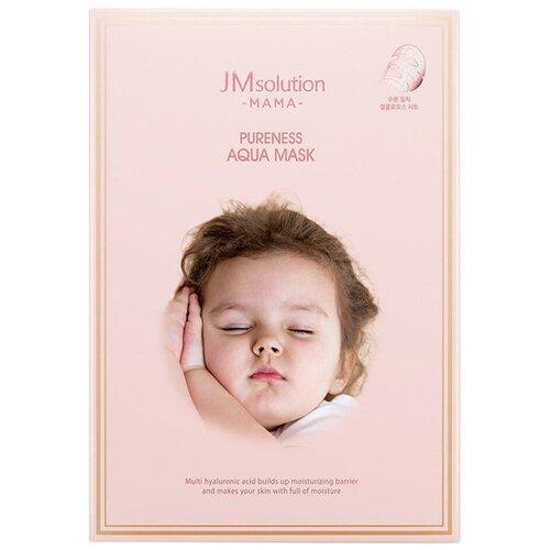 JM Solution Гипоаллергенная увлажняющая тканевая маска Mama Pureness Aqua Mask, 30 мл недорого