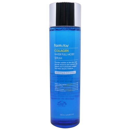 Farmstay Collagen Water Full Moist Serum Увлажняющая сыворотка для лица с коллагеном, 250 мл недорого