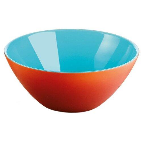 Guzzini Салатник My Fusion 20 см красный/голубой