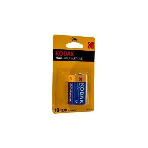 Фото - Kodak MAX 6LR61-1BL Батарейка B0005130 батарейка kodak 23a сигнализаций пультов игрушек электрошокеров