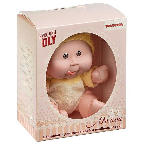 Кукла малыш Oly BONDIBON толстощёкий с улыбкой, BONDIBON размер 8