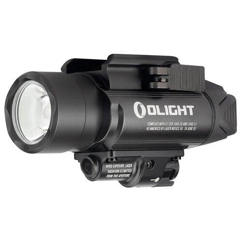 Фото - Светодиодный пистолетный фонарь Olight BALDR PRO, 2 x CR123A, диод Cree XH-P 35 HI/Laser Green, 3 режима, 260 метров, 1350 люмен фонарь olight baldr pro