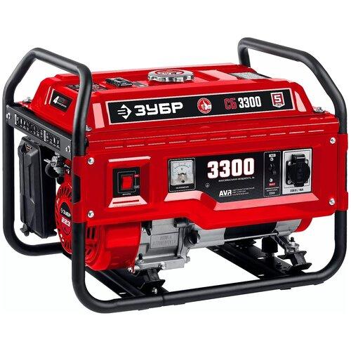 СБ-3300 бензиновый генератор, 3300 Вт, ЗУБР
