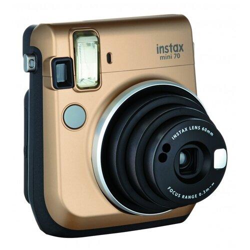 Фото - Фотоаппарат моментальной печати Fujifilm Instax Mini 70, gold фотоаппарат моментальной печати fujifilm instax mini liplay elegant stone white bundle