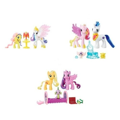 Фигурки My Little Pony My Little Pony Пони модницы парочки B9160 pony