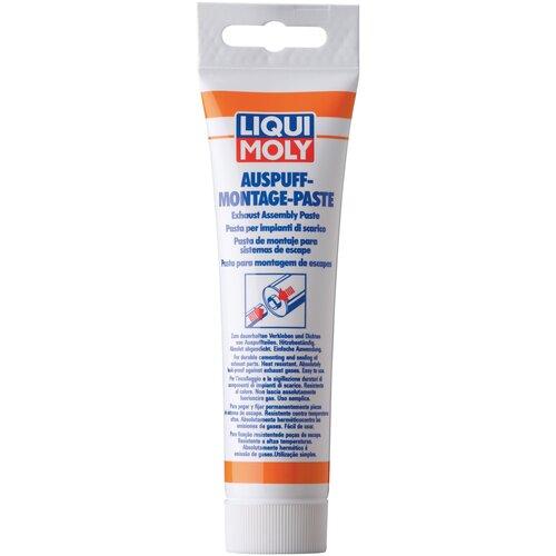 Герметик для ремонта автомобиля LIQUI MOLY Auspuff-Montage-Paste 3342, 0.15 кг серый герметик для ремонта автомобиля набор для ремонта автомобиля liqui moly auspuff bandage 3344 бесцветный