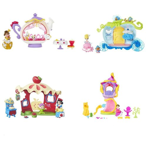 Купить Кукла Hasbro Disney Princess Мини кукла с аксессуарами, 7.5 см, B5344, Куклы и пупсы