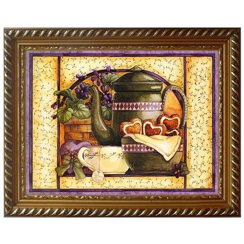 Алмазная живопись Набор алмазной вышивки Прованский чай (АЖ-1427) 40х30 см алмазная живопись набор алмазной вышивки березы у озера аж 1340 40х30 см