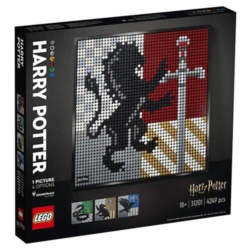 Конструктор LEGO ART 31201 Harry Potter Hogwarts Crests Гербы Хогвартса