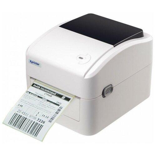 Термальный принтер этикеток Xprinter XP-420B белый