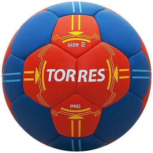 Мяч для гандбола TORRES H30062 оранжевый/синий