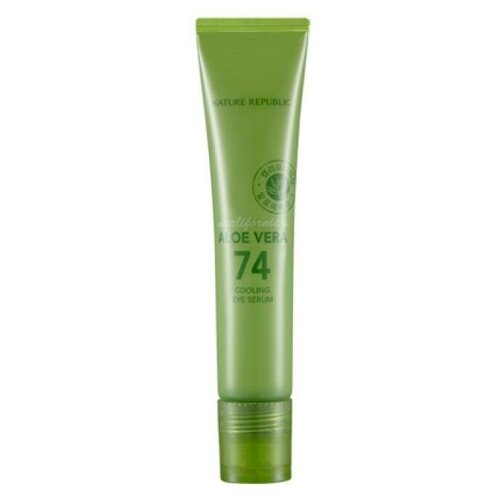 Купить NATURE REPUBLIC Сыворотка для глаз с экстрактом алоэ California Aloe Vera 74 Cooling Eye Serum, 15 мл
