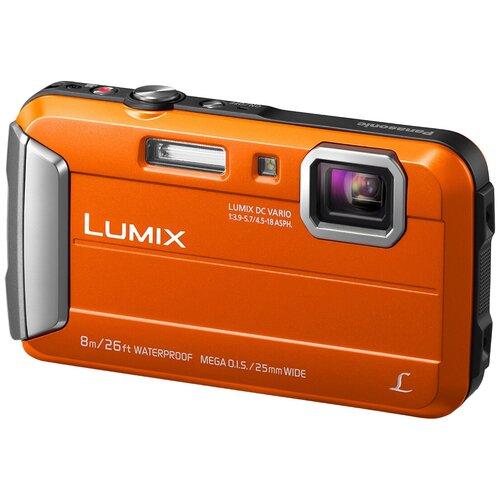 Фотоаппарат Panasonic Lumix DMC-FT30 оранжевый