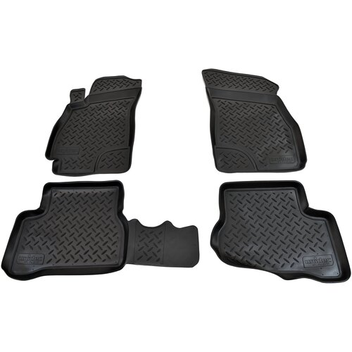 Фото - Комплект ковриков салона NorPlast NPL-Po-31-03 для Hyundai Accent 4 шт. черный комплект ковриков norplast np11 ldc 31 052 hyundai creta 5 шт черный