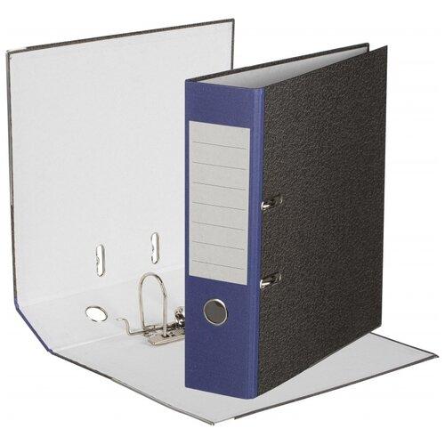 Фото - Папка-регистратор Attache Economy, 80 мм, мрамор с синим корпусом attache папка регистратор economy под мрамор 50 мм черный синий