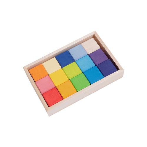 Купить Кубики ручной работы от Тикко 15 шт, TIKKO, Детские кубики