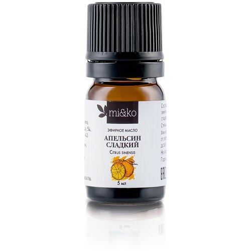 MI&KO эфирное масло Апельсин сладкий, 5 мл