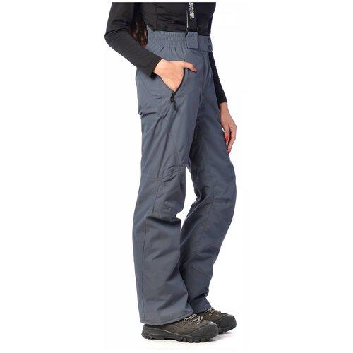 Горнолыжные брюки женские RUNNING RIVER 3127 (Темн. серый 065/40)