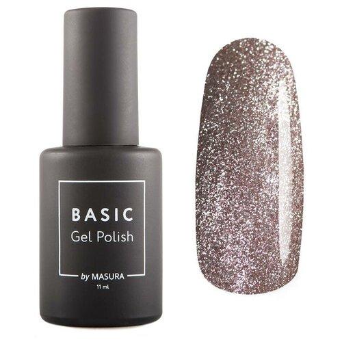 Гель-лак для ногтей Masura Basic, 11 мл, Розовая нега гель лак для ногтей masura basic 11 мл саргассово море