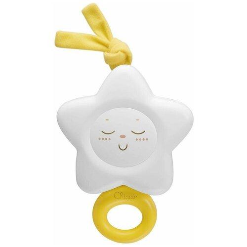 Купить Подвесная игрушка Chicco Звезда (1191) белый, Подвески