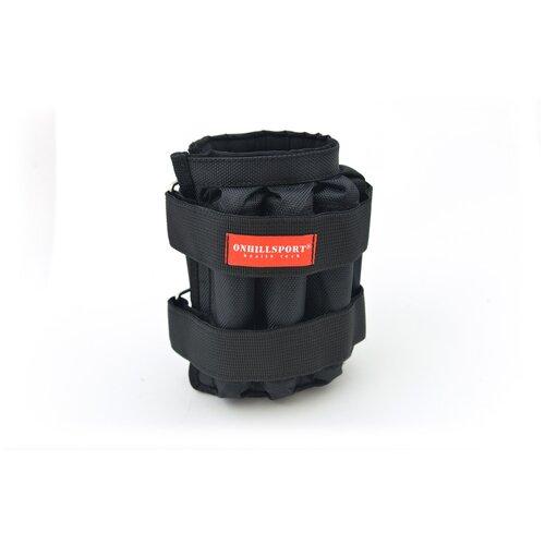 Манжеты регулируемые 4 кг (под грузы 2х4 кг, 500 гр -16 шт) Черный