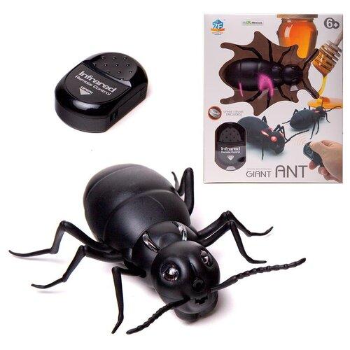 Купить Интерактивные насекомые и пресмыкающиеся. Гиганский муравей р/у, световые эффекты, Junfa toys, Роботы и трансформеры